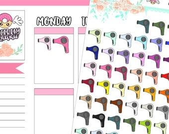 Icon Hair Dryer Stickers (17)
