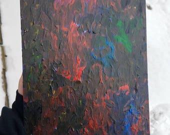 WRATH - Acrylic painting