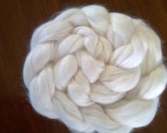 Bamboo Top/Roving/Sliver ~ White