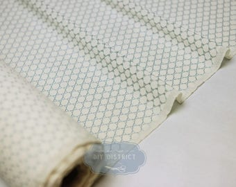 Fabric lace Japanese motif round