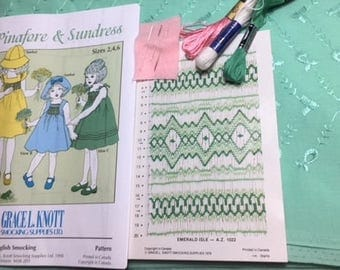 Pinafore and Sundress KIT, girls sizes 2,4 or 6.