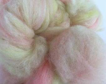 BFL Hand Pulled Roving for Spinning