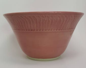 Bowl, Handmade Bowl, Pink Bowl, Multi Purpose Bowl, Handmade Pottery Bowl, Serving Bowl