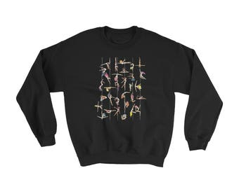 Pole Dance Fleece Sweatshirt || Off Duty Poler