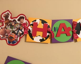Toy Story Banner, Woody Banner, Buzz Lightyear Banner, Woody and Buzz Banner