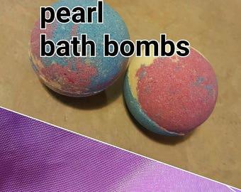 1 (one)  AKoya Pearl bath bomb 4.8 oz