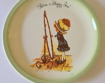 Vintage Hollie Hobbie Plate