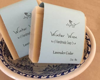 Lavender Cedar Bar Soap
