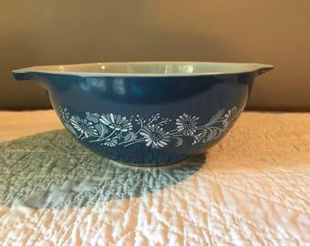 Vintage Pyrex Colonial Mist Cinderella Serving Bowl 442
