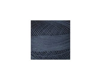 Lizbeth Thread Size 40 Solid: #606 Charcoal