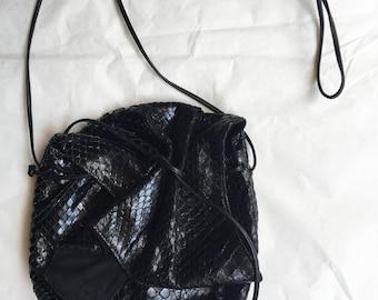 vintage snake little bag