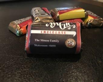 Print & Cut - Hershey's Miniature Labels