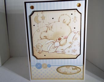 Baby Boy Card Handmade