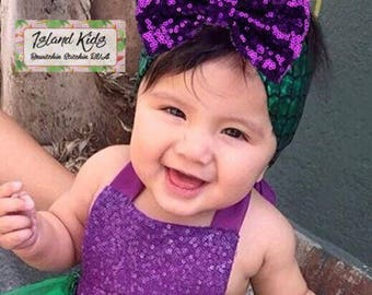 Mermaid Hairband with Bow, Babies, Toddlers