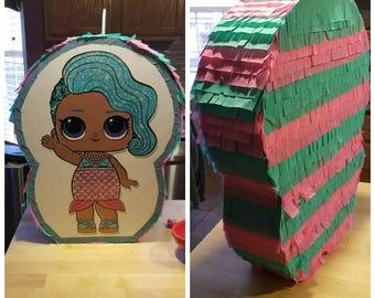 Handmade L.O.L Surprise Doll  Pinata.  Choose you favorite sister. LOL Surprise Decor Birthday Party