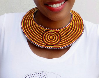 statement necklace for women, chunky necklace, collar necklace, bib necklace, gift for her