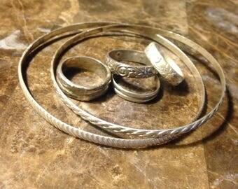 Bangles n stack rings