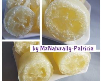 Luscious Mini Lemon Loofah Soap (4 for 7.25)