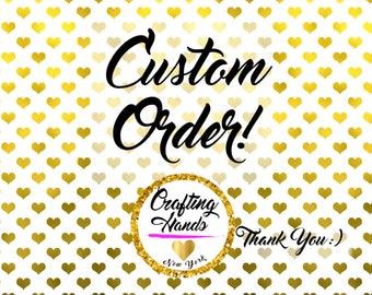 2 Black Waterproof makeup bag w/initial. Reserve Listing for custom orders.
