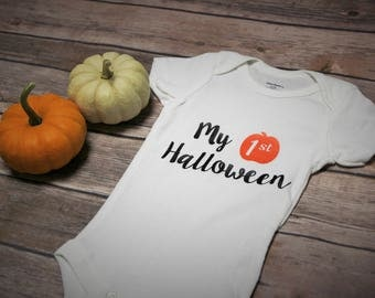 My 1st Halloween Baby Outfit