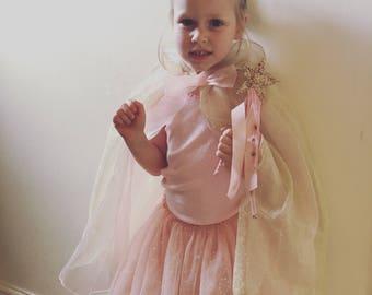 Glitter star wand   glitter star wand with ribbons, fairy wand, girls accessories, birthday gift