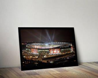 Arsenal Emirates Stadium inspired poster