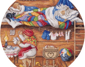 Cross Stitch Kit Home protector 3