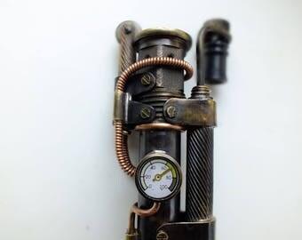 Steampunk Lighter, Handcrafted  Lighter