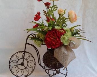 Bicycle Floral Arrangement