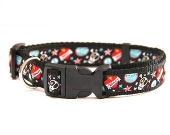 Dog collar  'Skull & Crossbone'