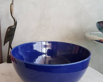 "Arabia Finland ""Kilta"" or ""Teema"" Bowl. Designed by Kaj Franck. 24 cms"