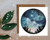 Starry Sky Greetings Card