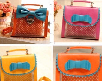 Clear and Colorful Bags
