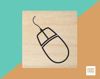 Mouse - 3cm Rubber Stamp (DODRS0060)
