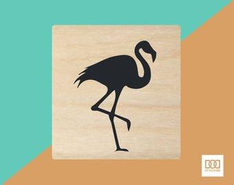 Flamingo - 3cm Rubber Stamp (DODRS0107)