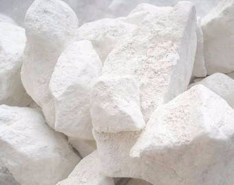 "1 lb white chalk ""Belgorod "" lump (Russia), edible chalk, Organic chalk, 100% pure natural (450 gr)+ Free Samples"
