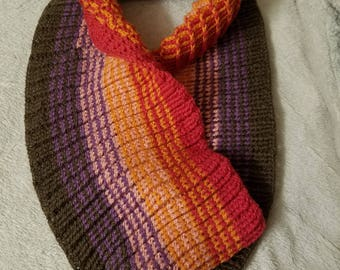 Crochet cowl **free 3day shipping**