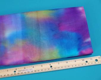 2 Yards Legacy Studio Batik Fabric Rainbow Tonal NEW