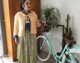 Vest knitting handmade vintage