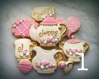 Sweet Tea Party Cookies