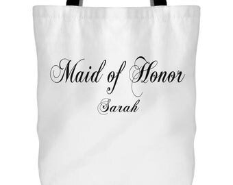 maid of honor gift, maid of honor tote, bridal party gift, maid of honor gift, bridal party bag, bridal party tote, custom tote, custom bags