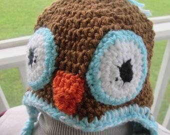 Wise Little Owl Hat