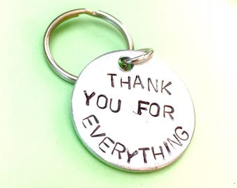 Thank you, Gift for mentor, Favour gifts, Thank you very much, Favor Key chains,Graduation gift Mentor teacher gift uk, Appreciation keyring