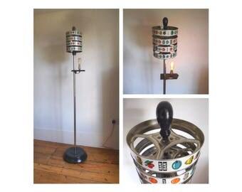 Vintage Fruit Machine Floor Standing Lamp
