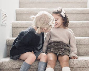 Cable Knit Knee-Socks/ Infant/ Toddler/ Childrens