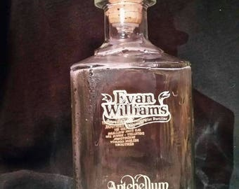Evan Williams Antebellum Decanter