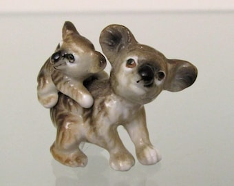 Mamma and Baby Koala Mini Figurine