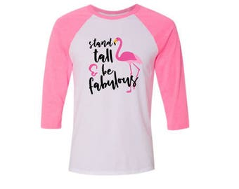 Breast Cancer Flamingo Shirt, Breast Cancer Flamingo T Shirt, Flamingo Tee, Flamingo Gift, Flamingo Clothing, Gifts for Women
