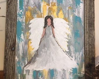 Guardian Angel painting  You're never so lost that angels can't find you