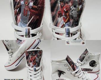 atlanta falcons shoes julio jones sports devonta freeman converse chucks nfl
